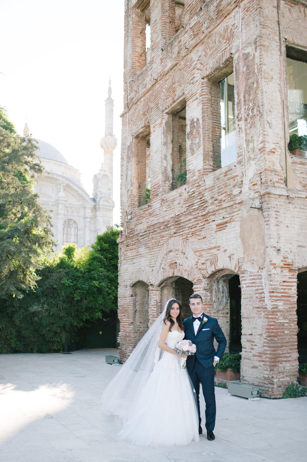 Ece + Hakan Esma Sultan Wedding Fidan Kandemir Photography