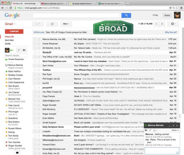 WWW Chip Kelly email