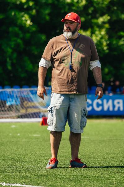 Василий Добряков на отборочном лагере сборной России в Ярославле. Фото Светланы Халявиной.