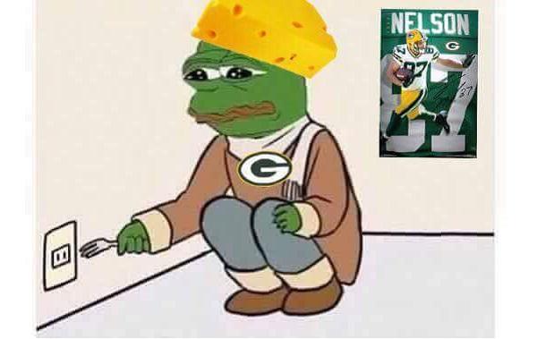 Jordy Nelson Packers fan meme