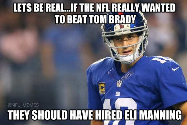 Tom brady Eli Manning meme