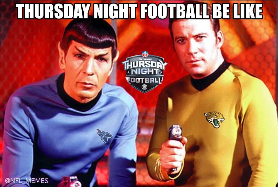 Thursday night football meme