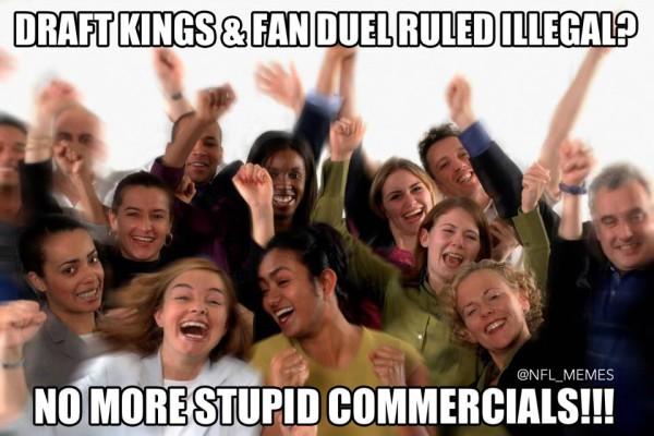 fabduel draftkings meme
