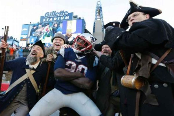 In his seven pro seasons, LeGarrette Blount has rushed for 5,122 yards and 49 touchdowns. CJ GUNTHER/EPA