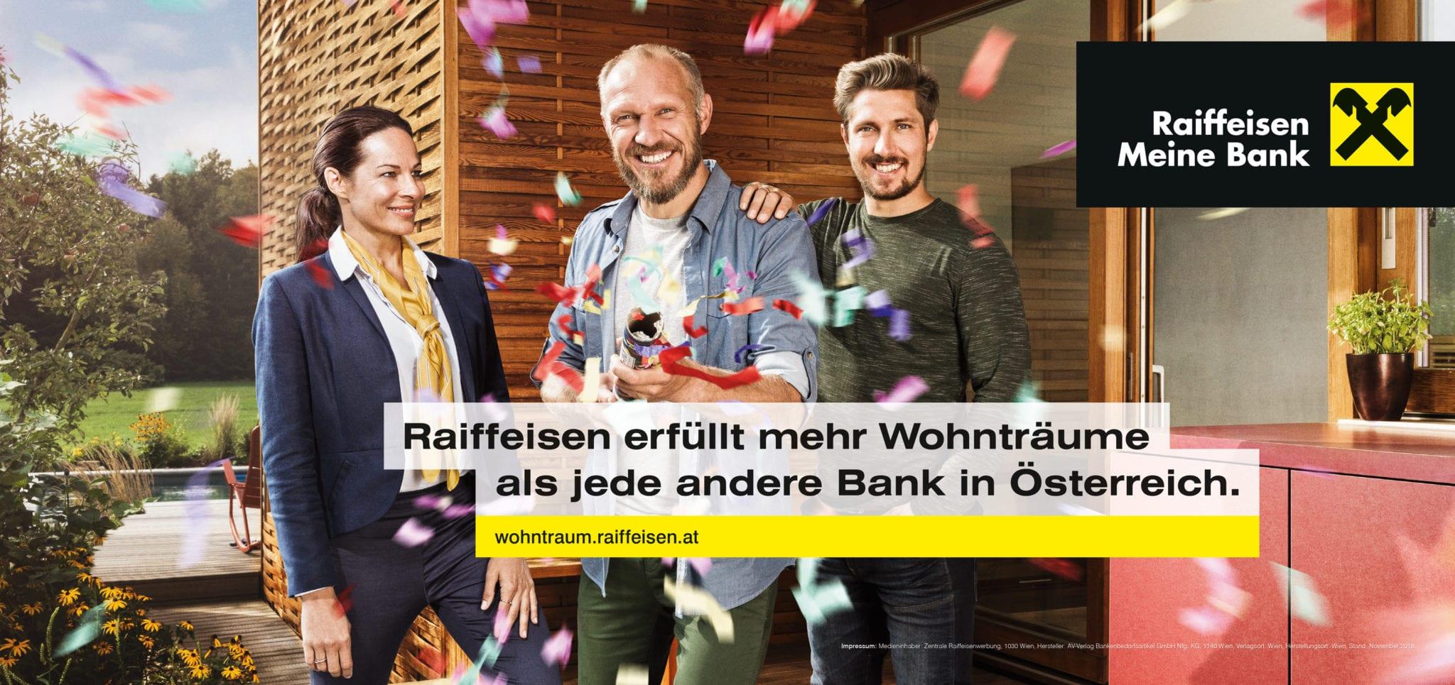 OGILVY - Marcus Hornek // Sebastian Kainz // Client: Raiffeisen // 2019