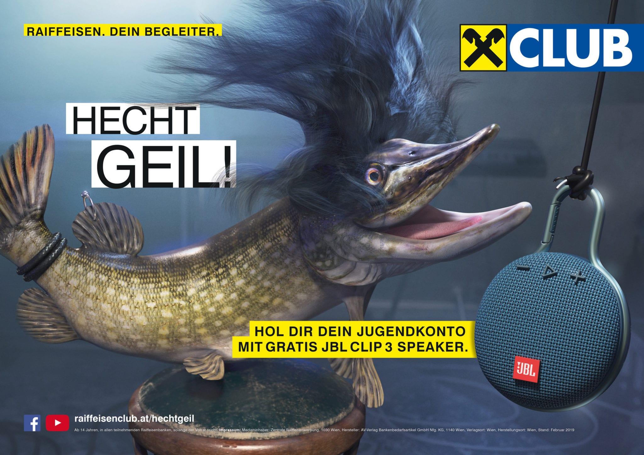 OGILVY - Marcus Hornek // Sebastian Kainz // Client: Raiffeisen Club // 2019