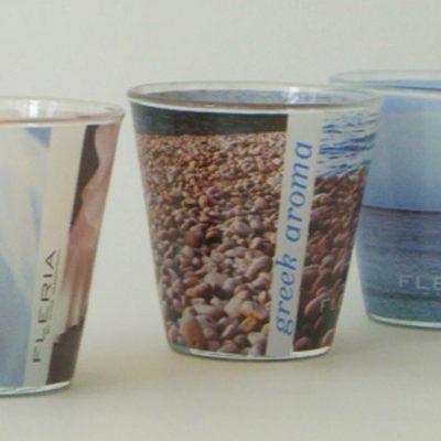 γυάλινο-βάζο-κερί-handmade-sticer-corporate-gift-εταιρικά-δώρα-greek-aroma