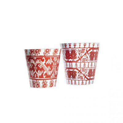 conical benaki pots
