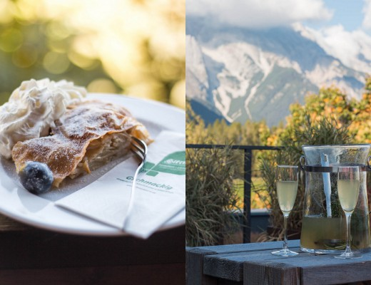 Tiroler Apfelstrudel & Almdudler {flowers on my plate}