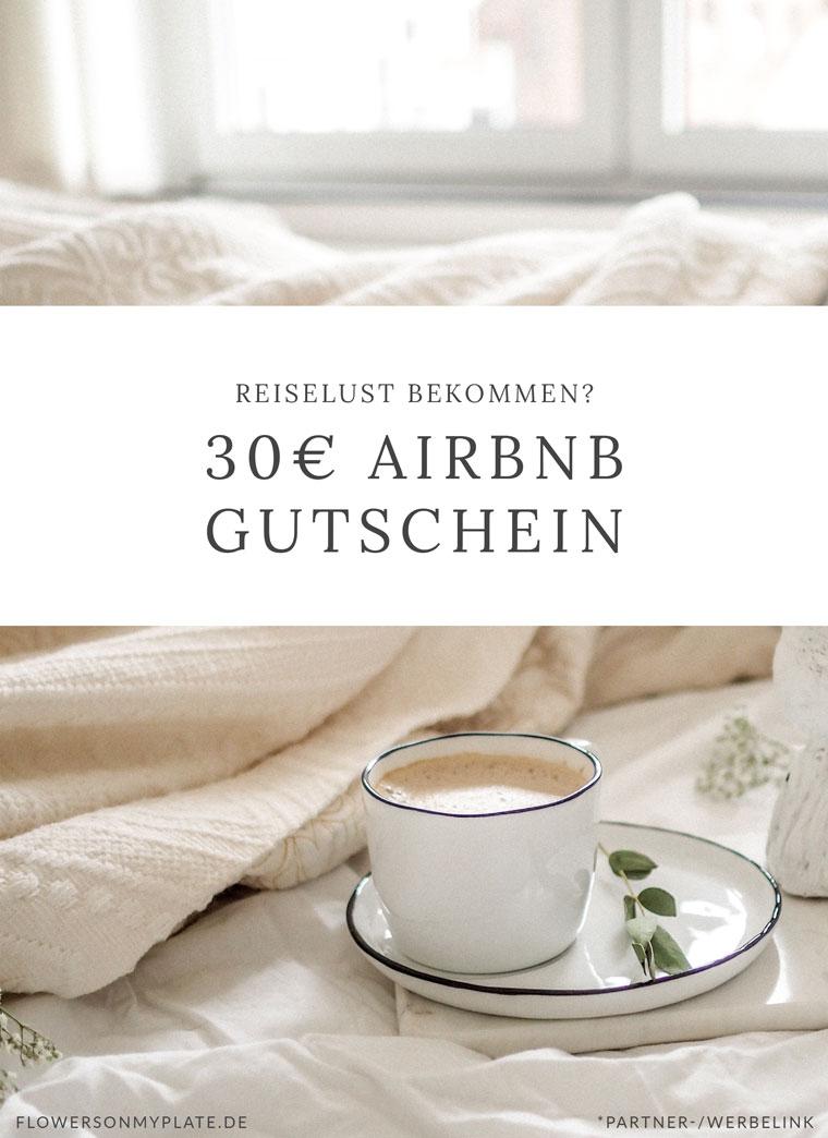 Airbnb Gutschein für deine erste Buchung