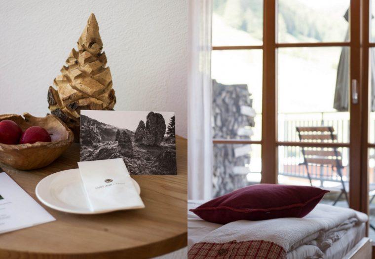 Hubertus Alpin Lodge & Spa {flowers on my plate}