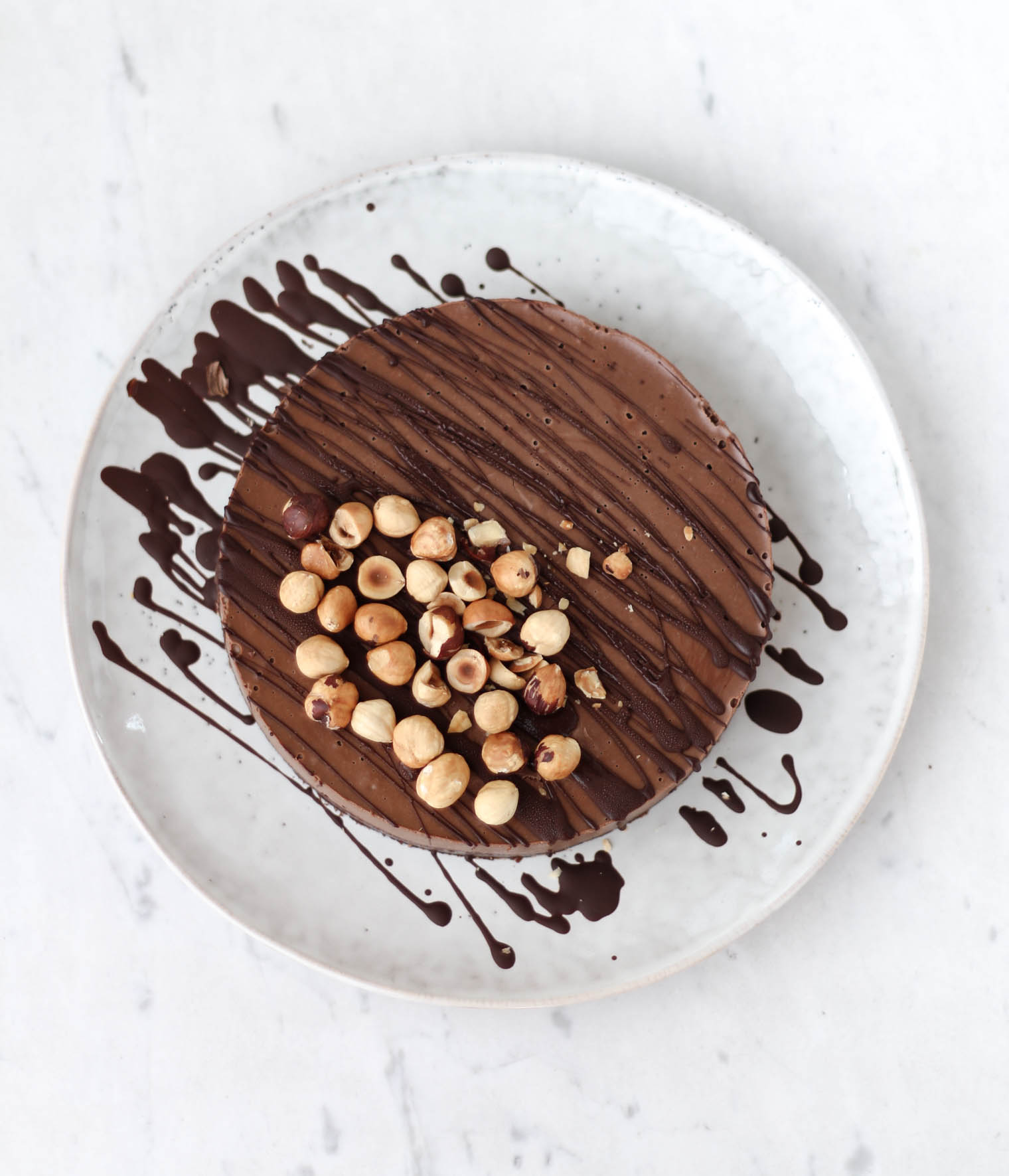 Vegane Schoko Mocha Mousse Tarte {flowers on my plate}
