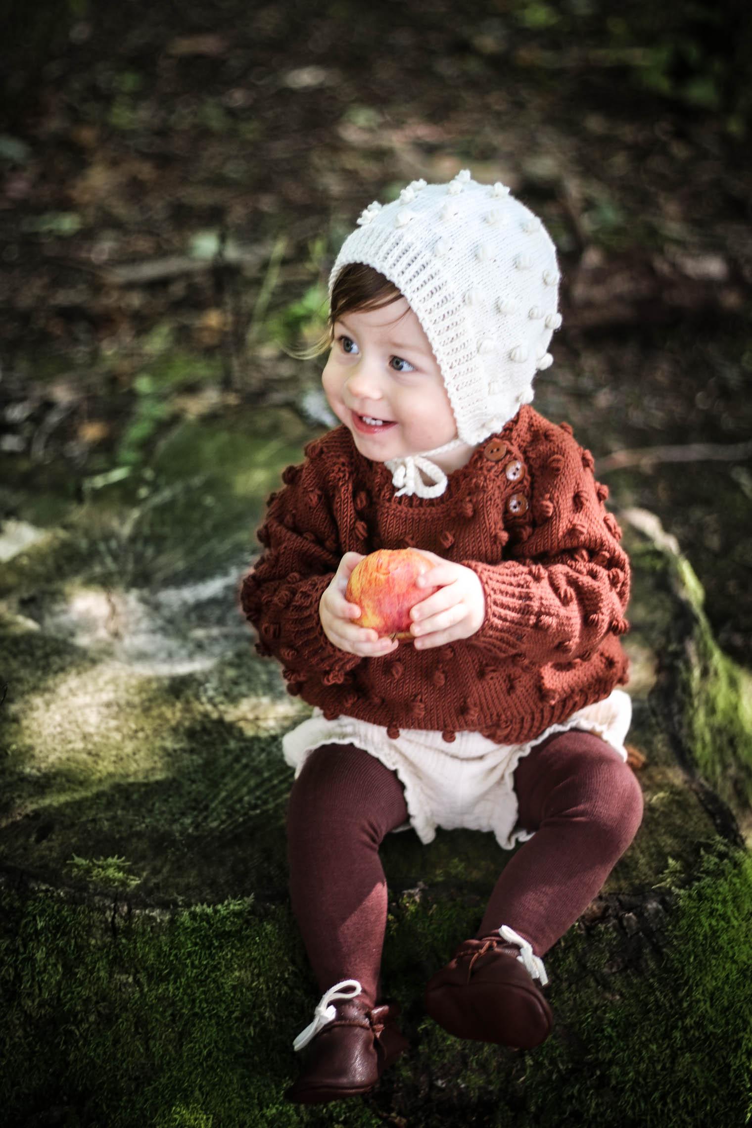 Baby Capsule Garderobe & Waldausflug {flowers on my plate}