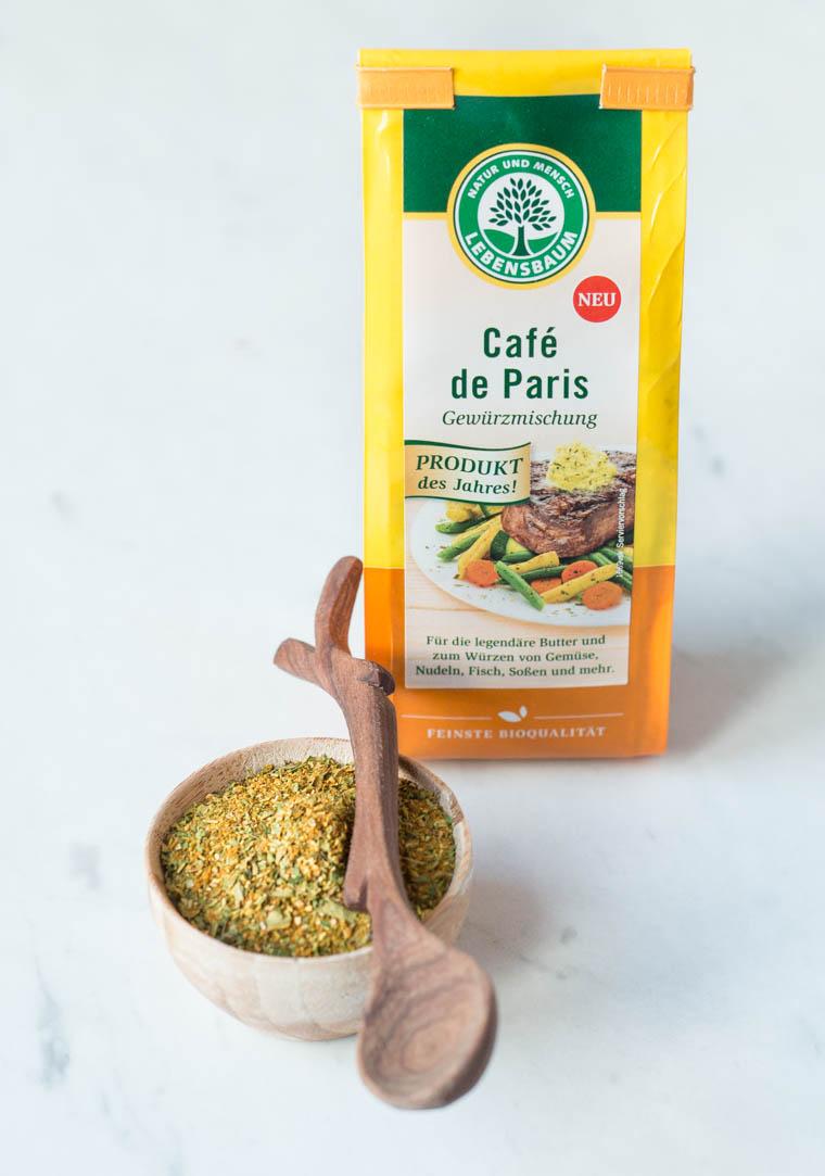 Buttermilch Galette mit grünem Spargel