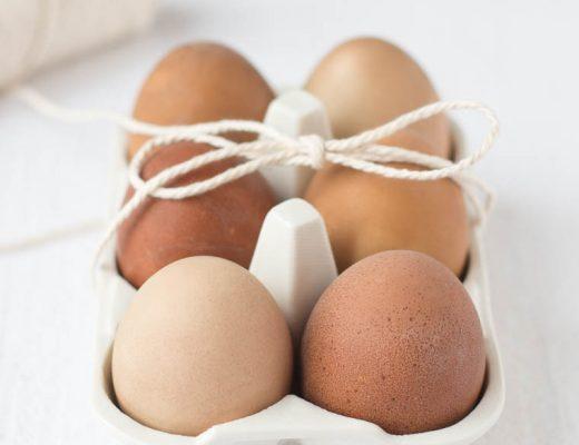 Ostereier natürlich färben, DIY Anleitung