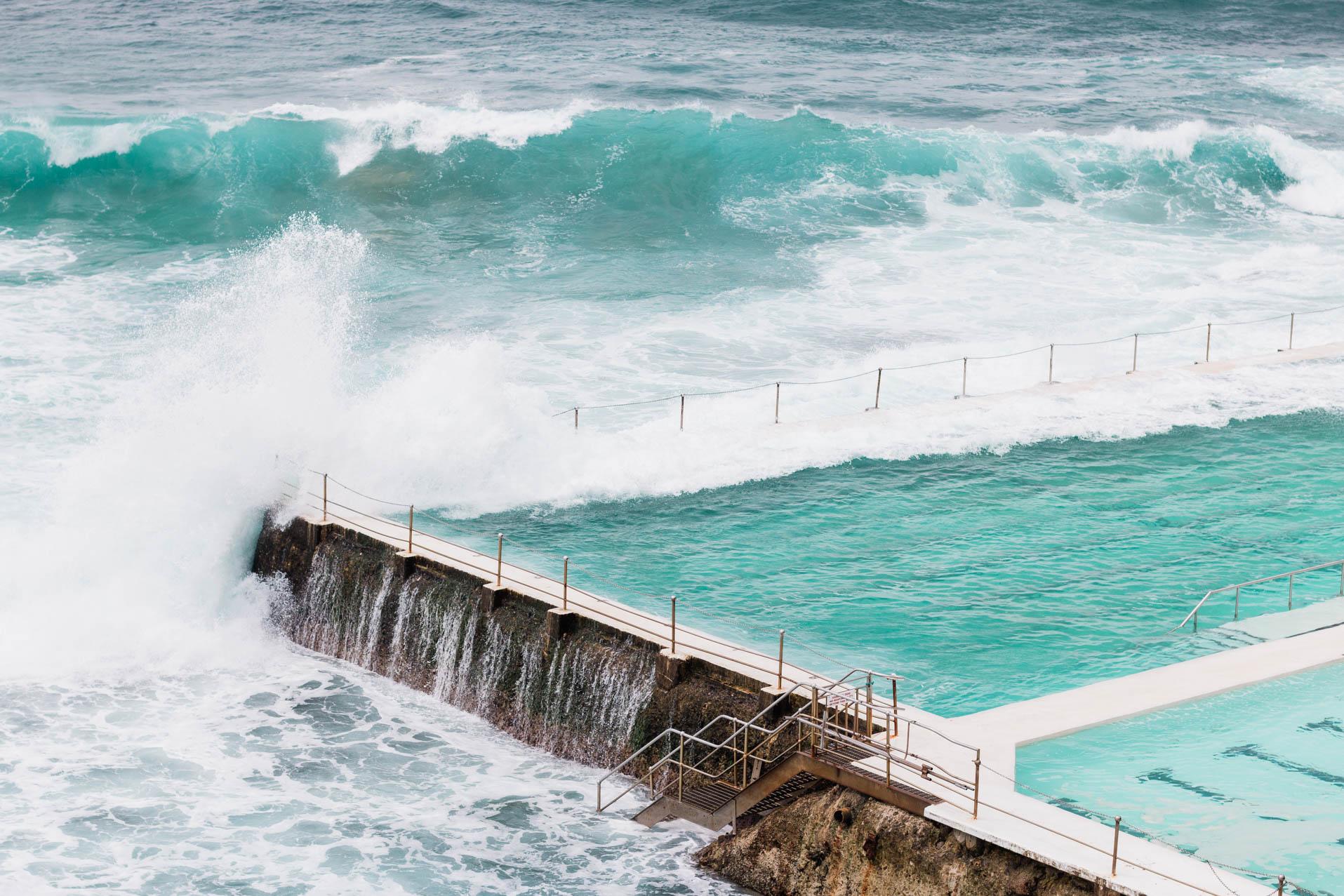 Drei Monate Neuseeland und Australien mit Kind-Bondi Beach
