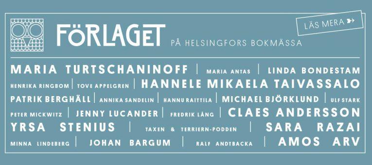 Förlaget på Helsingfors Bokmässa 2016