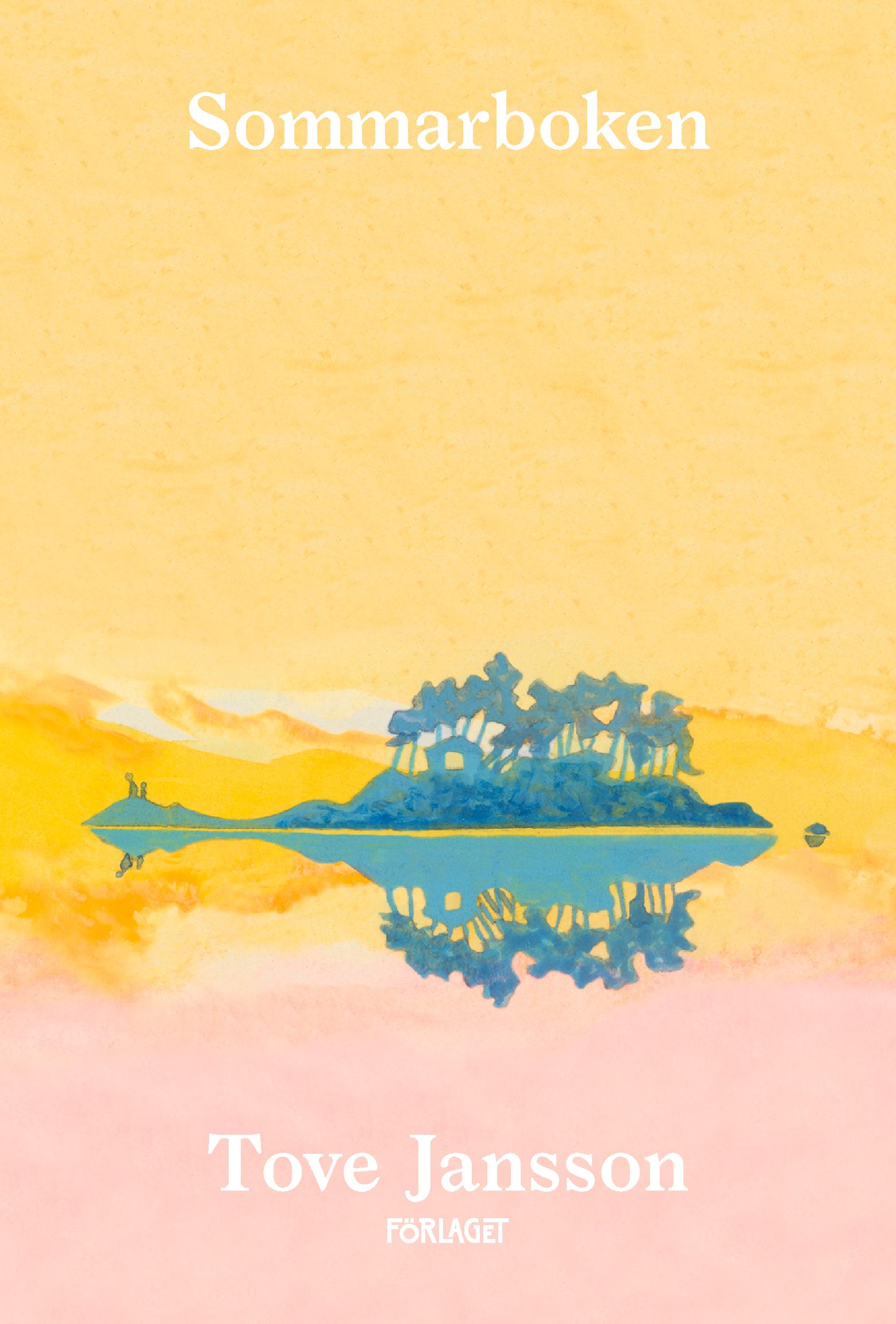 Sommarboken av Tove Jansson (pärm)