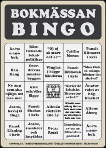 Bokmässan bingo