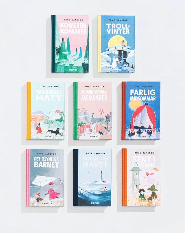 Tove Jansson: Muminpaket – alla åtta böcker i en boksamling