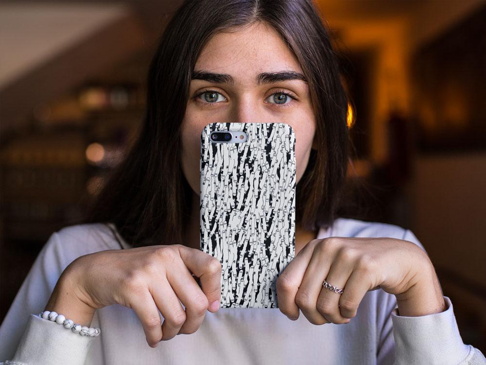 Hattifnattar-telefonfodral