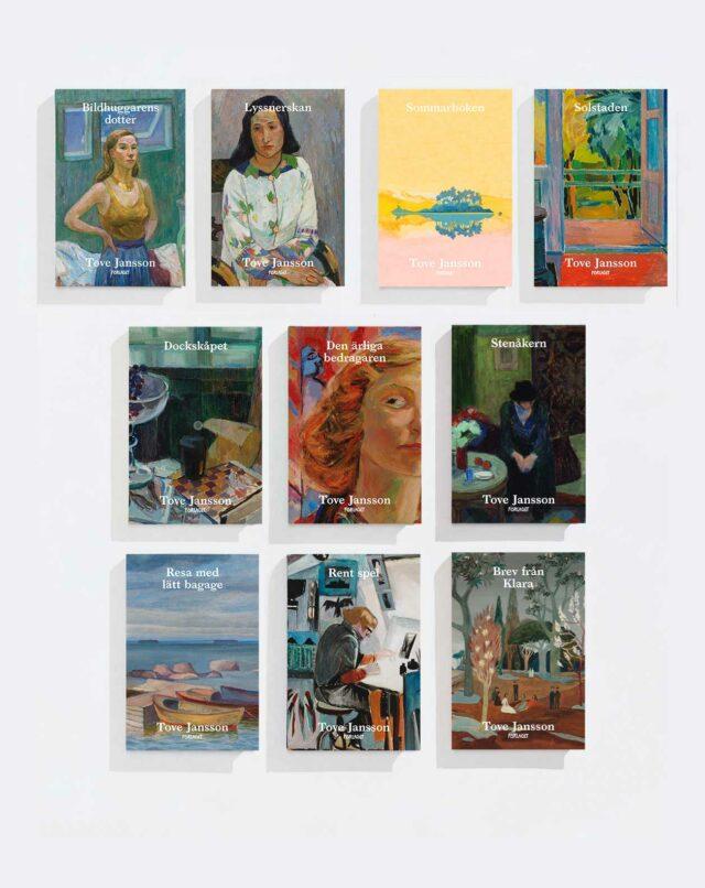 Tove Jansson: Tove Jansson – bokpaket med tio skönlitterära verk