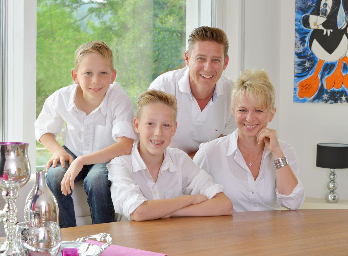 Familie Zuhause