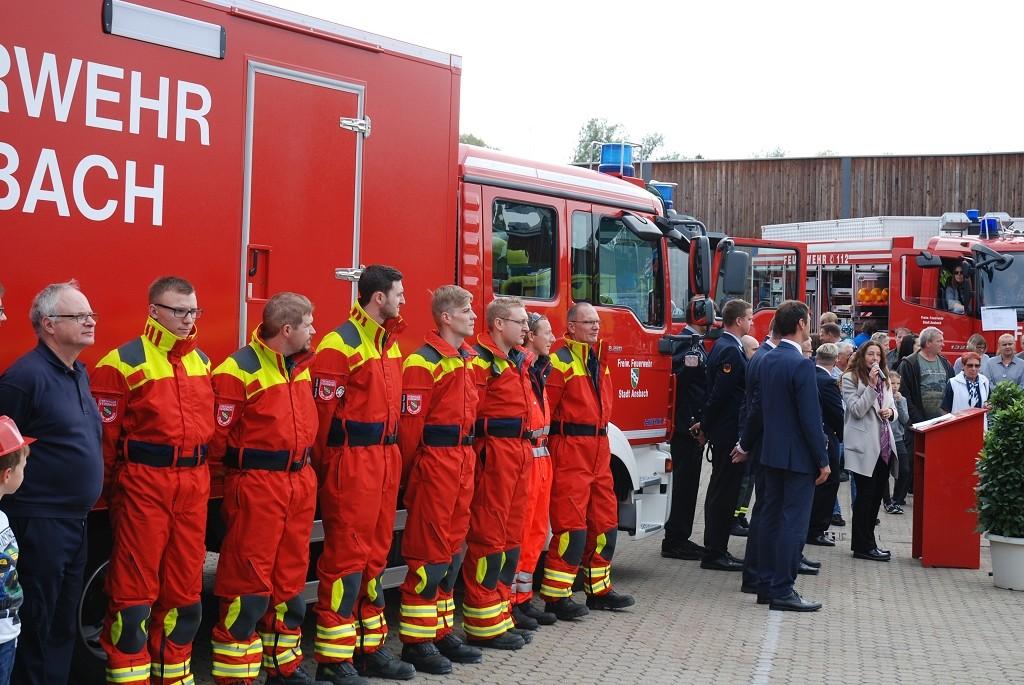 Tag Der Offenen Tür 2019 Der Feuerwache Ansbach Fränkischer De