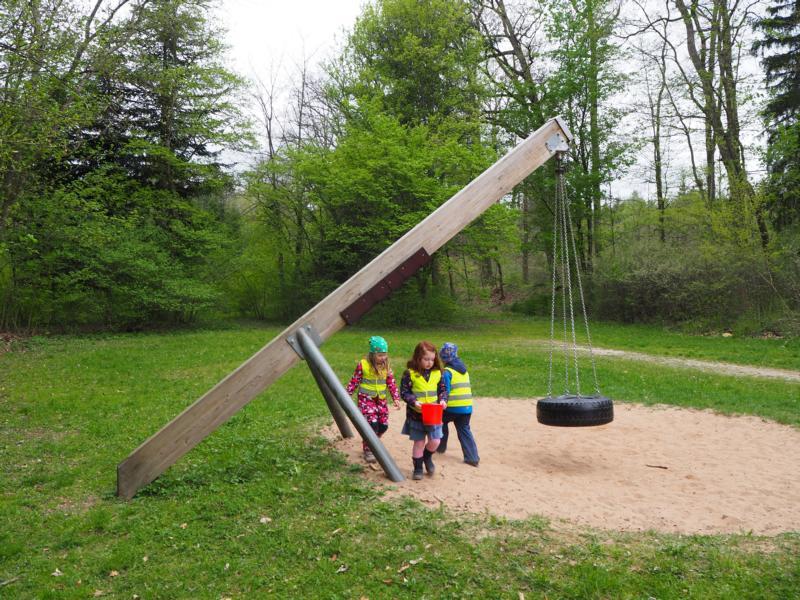 Natur Pur Beim Waldtag Des Montessori Kindergartens Fränkischerde