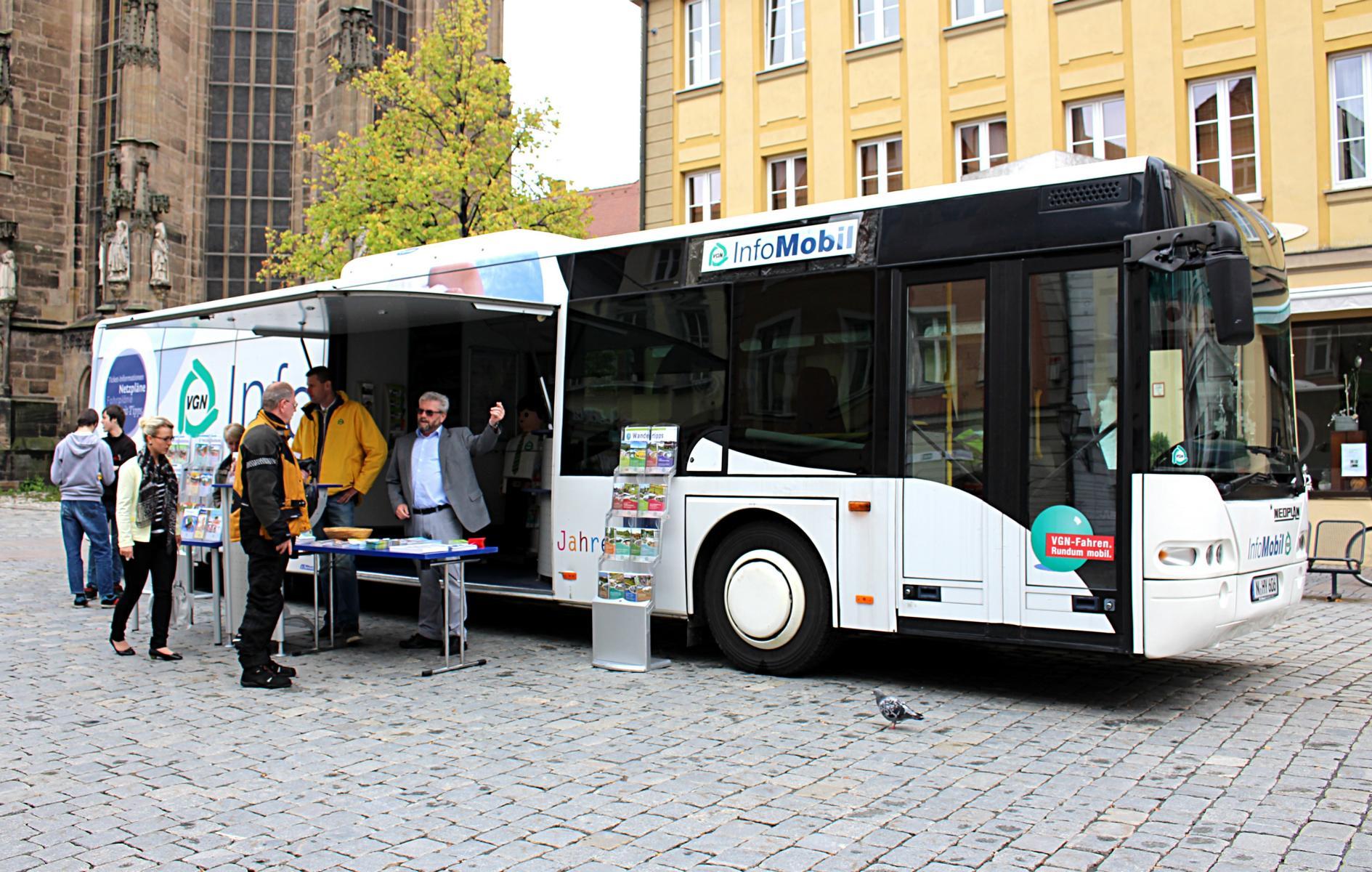Vgn Infomobil Mit Tipps Für Den Schul Und Arbeitsweg