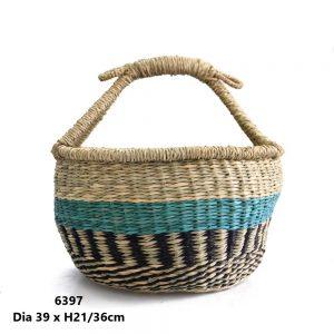 Bolga-Seagrass-Basket