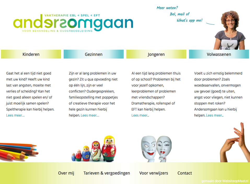 Andersomgaan website