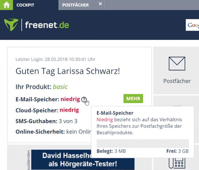 Freenet Mail Nicht Erreichbar