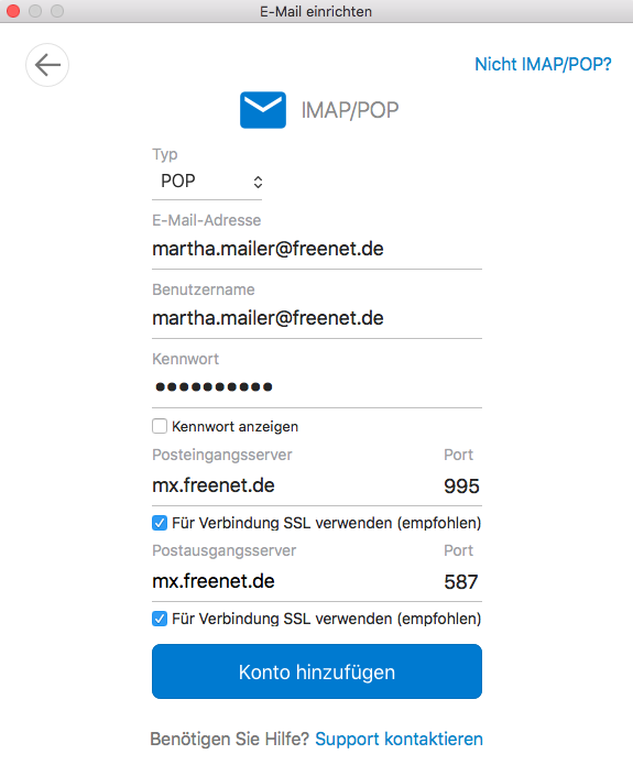 freenet mail basic