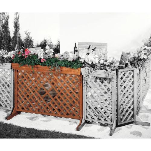 Blumenkastenserie mit Spalier -ORTH