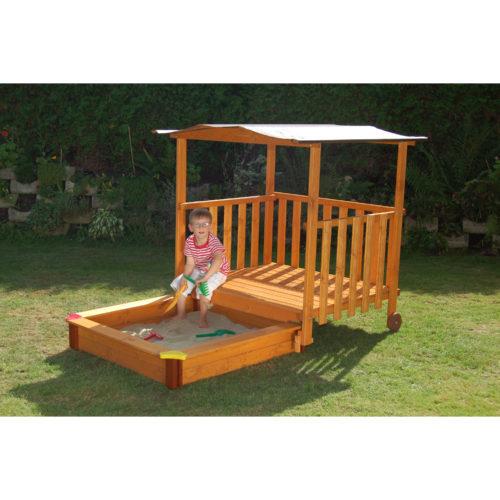 Sandkasten Mit Dach Absenkbar Kinder Metradirektde: Home Furniture