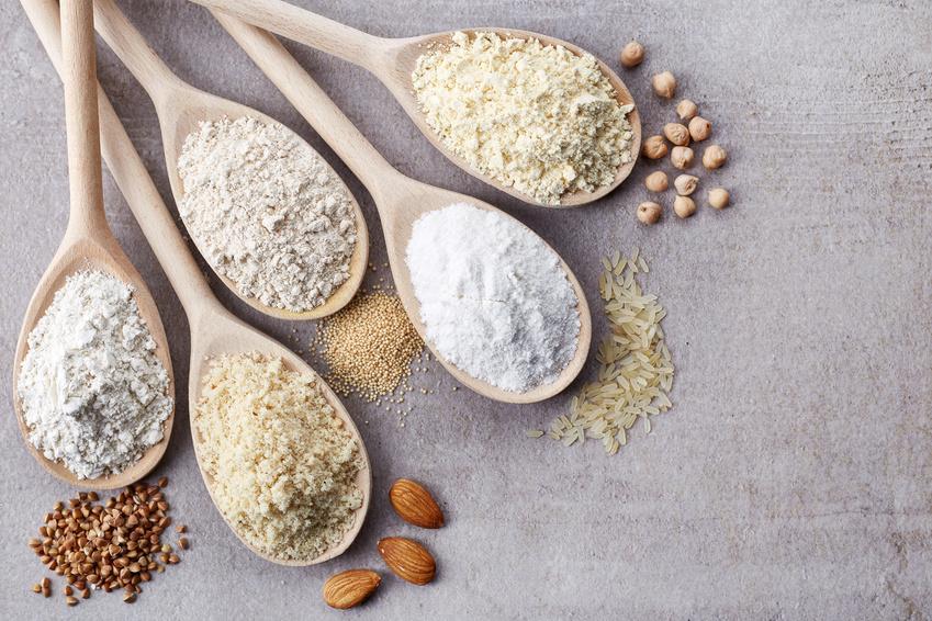 Zöliakie Ernährung: glutenfreie Mehle