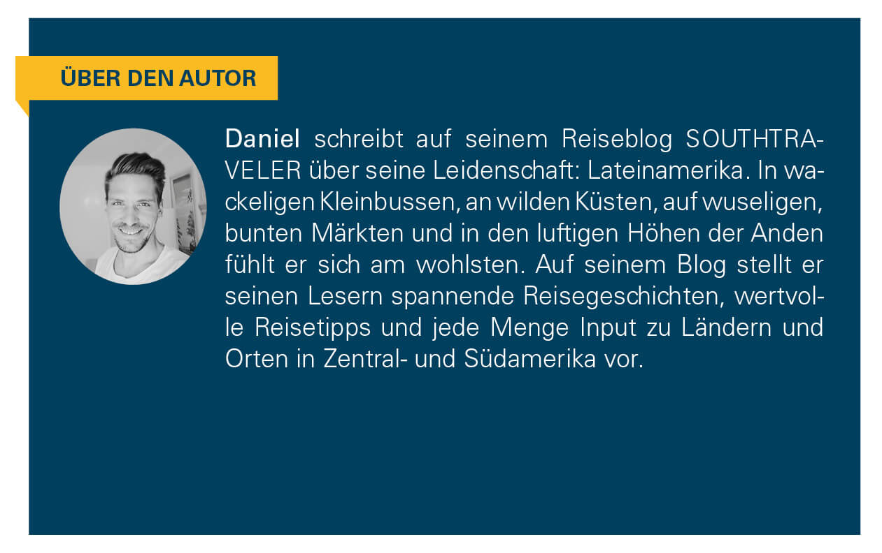 Kurzbeschreibung des Autors Daniel.