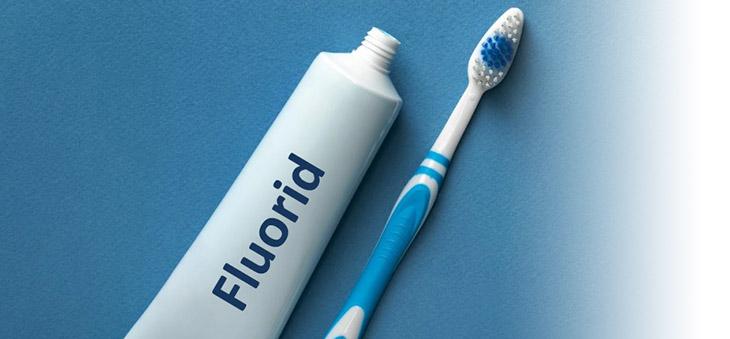 gut fuer unsere Gesundheit ist Zahnpasta mit Fluorid