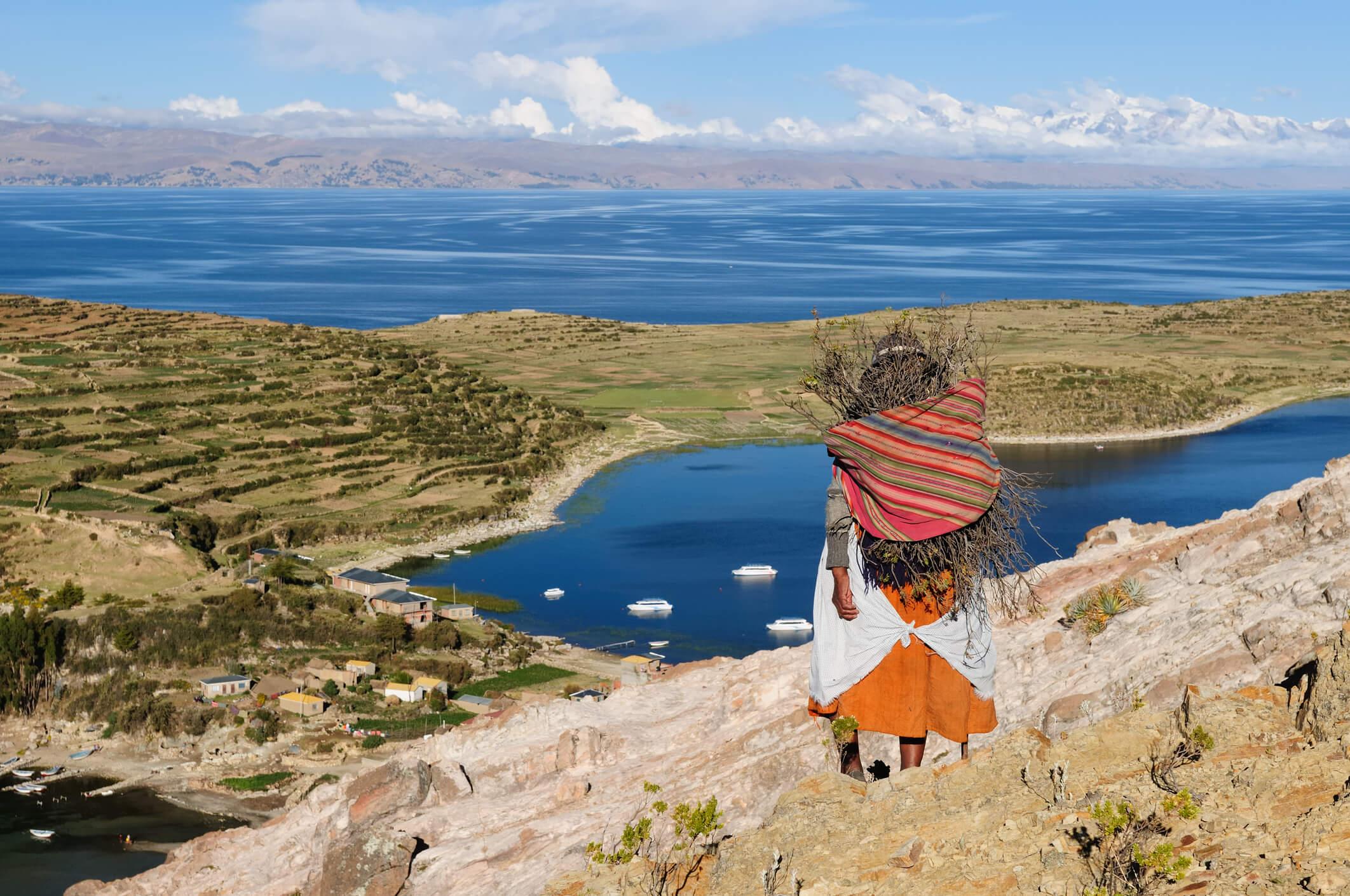Titicacasee in Bolivien – noch ein Geheimtipp für Backpacker.