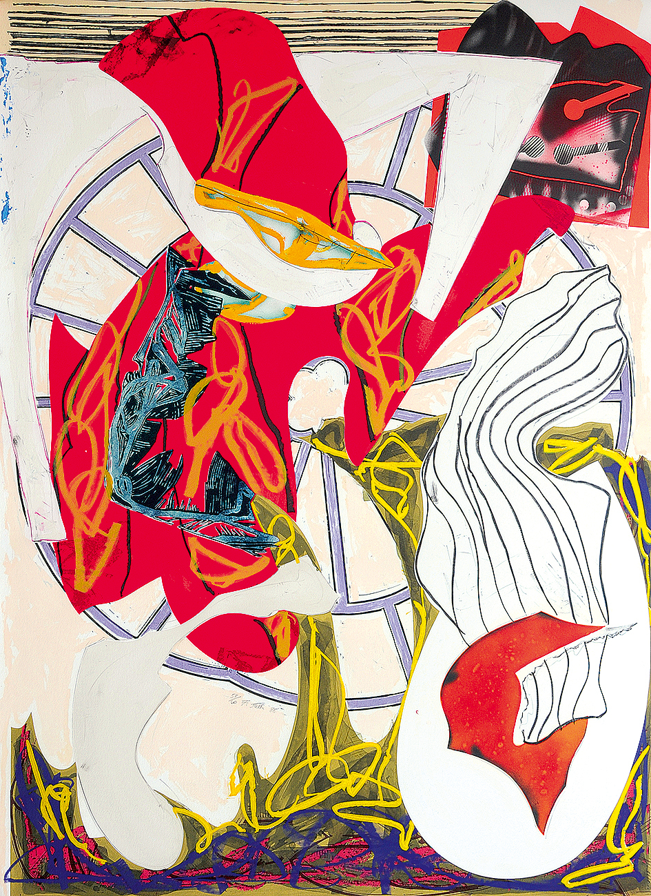 """Stella Frank, A Squeeze of the Hand, 1988, from """"The Waves"""""""