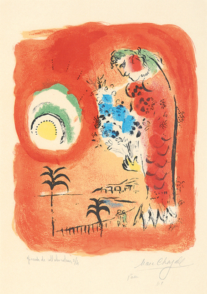 Chagall Marc, La Baie des Anges