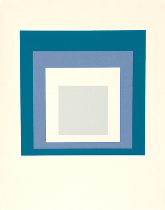 "Albers Josef, Sheet from ""Hommage au Carré"""