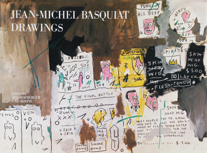 Basquiat Jean-Michel, Book.  Jean-Michel Basquiat Drawings, 1985