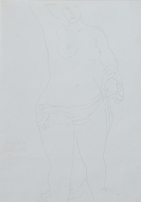 Bänninger Otto Charles, Studie für Bellevue Figur