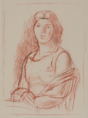Blanchet Alexandre, Femme drapée