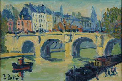 Bellini Emmanuel, Paris, Pont Neuf