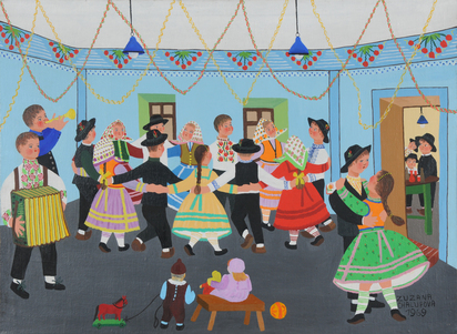 Chalupova Zuzanna, Szene aus dem Tanzsaal