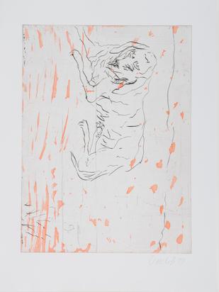"Baselitz Georg, Untitled, from ""Schlafende Hunde"""