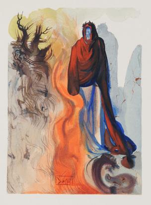 """Dalí Salvador, 11 Blätter aus """"Die Göttliche Komödie (Die Hölle)"""""""